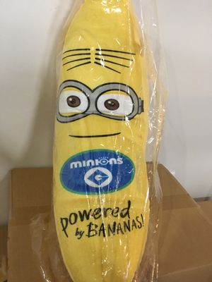 Disney despicable me Minion banana plushie for Sale in Milpitas, CA