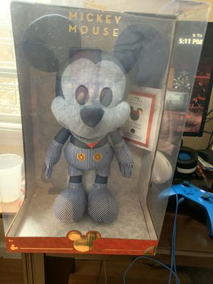 Disney Year of The Mouse Collector Plush - Train Conductor Mickey for Sale in Newark, NJ