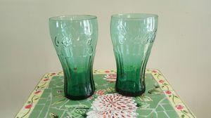 2 coca cola glasses for Sale in Harrisonburg, VA