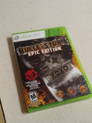 Bulletstorm epic edition / games / action / hero / shooter / Xbox 360 / cd / games/ tv / controller / remote / headphones Xbox 360 for Sale in Naples, FL