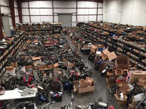 Tons Of Used Motorcycle Parts Suzuki Honda Kawasaki Yamaha Harley Davidson GSXR CBR R1 R6 ZX6R for Sale in Houston, TX