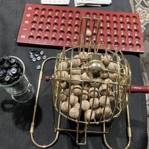 Fancy Brass Bingo Set Like New for Sale in La Grange, IL