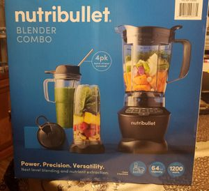 NUTRIBULLET BLENDER COMBO for Sale in Los Angeles, CA