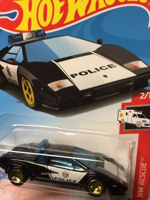POLICE PURSUIT LAMBORGHINI WITH GOLD HUBS HOTWHEEL VHTF for Sale in San Diego, CA