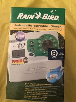 New automatic sprinkler system model ism 9rs for Sale in Spring Valley, CA