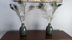 Set of two home decor vases for Sale in Goodyear, AZ