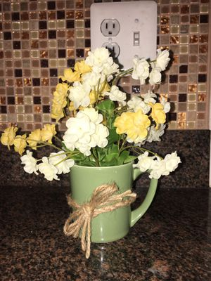 Cup Flower Pot for Sale in Frederick, MD