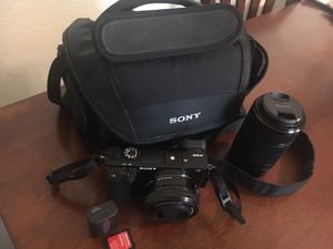 Sony digital camera A6000 Aps-C for Sale in Gig Harbor, WA