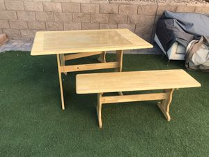 Wood table for Sale in Las Vegas, NV