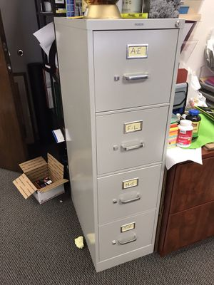 Filing cabinet-good condition for Sale in San Diego, CA