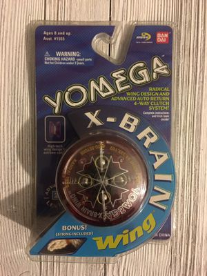 1999 YOMEGA X-BRAIN Wing YO-YO RED. for Sale in Glendale, AZ