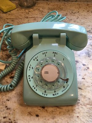 Old phone that dial phone for Sale in Renton, WA