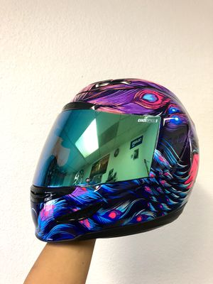 Motorcycle helmet & gloves set for Sale in Fresno, CA
