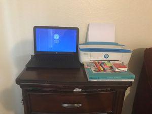 LAPTOP/printer for Sale in Stockton, CA