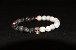 Skull Head Helmet Bracelet White/Grey for Sale in Burbank, CA