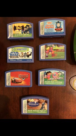 7 Leapster games with Case for Sale in Orlando, FL
