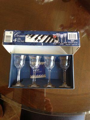 Stemware , crystal glass wine for Sale in El Cajon, CA