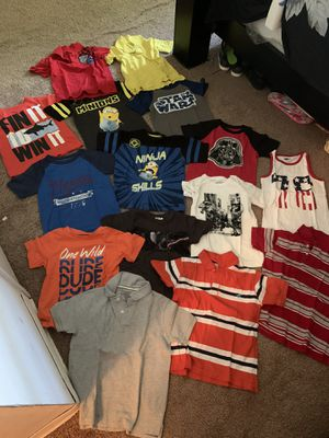 Size 4t/5t toddler tshirts for Sale in Salem, VA