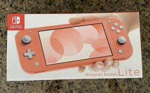 Brand new Nintendo Switch Lite Coral for Sale in Westlake, TX
