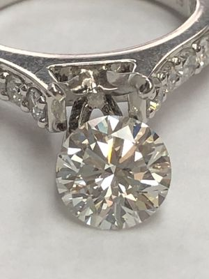 1.53 ct Tiffany diamond G/VS1 for Sale in Guttenberg, NJ
