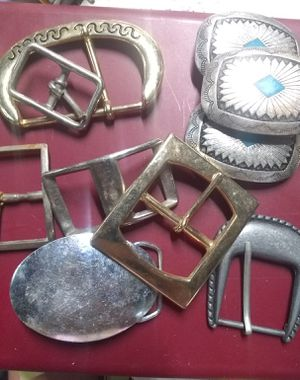 Lot of #10 variety buckles for Sale in Harrisburg, IL