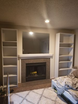 7ft tall bookshelves for sale asap for Sale in Federal Way, WA
