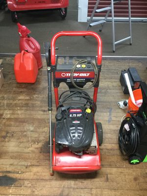 Troy bilt pressure washer 2550 psi for Sale in Chicago, IL
