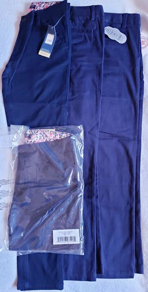4 Girls Uniform 10 12 Pants Navy Stretch for Sale in Pittsburg, CA