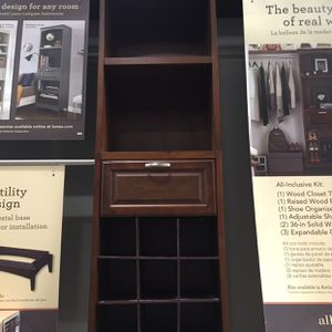 Wood Cabinet Closet Organizer Storage for Sale in Corona, CA