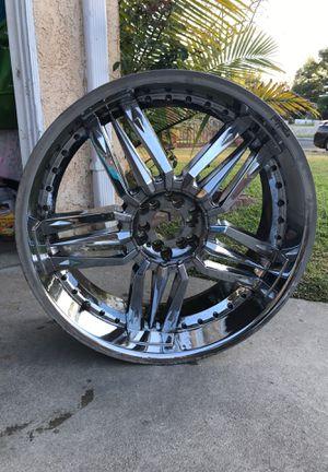 24 Inch Pinnacle Wheels/Rims for Sale in Santa Fe Springs, CA