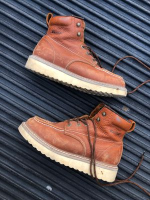 """Wolverine Men's Moc Toe Wedge 6"""" Work Boots for Sale in El Paso, TX"""