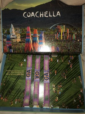 Coachella Weekend 1 for Sale in Byron, CA