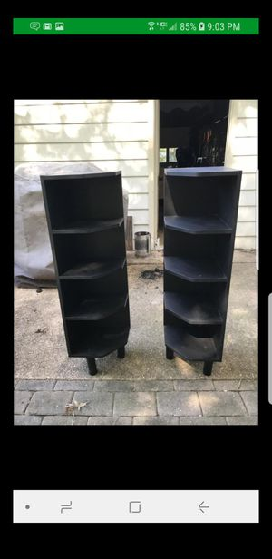 Pair of corner shelves for Sale in Alexandria, VA