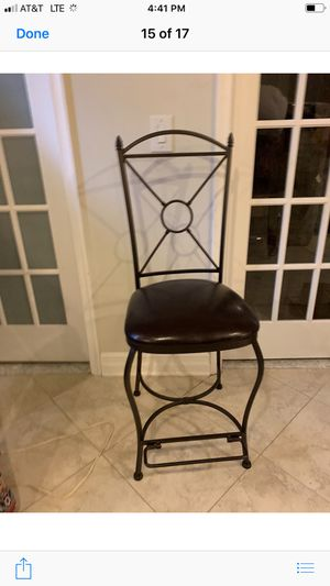 Metal bar stools for Sale in Reston, VA