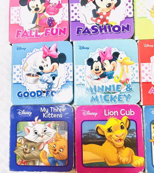 Disney Mini Board Books Lot Of 18