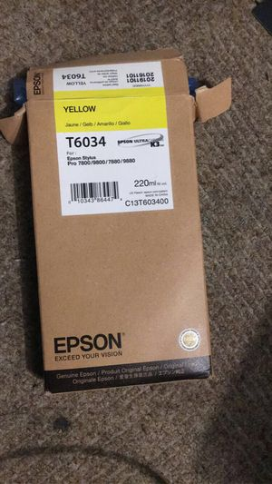 Epson poster machine ink for Sale in Milwaukee, WI