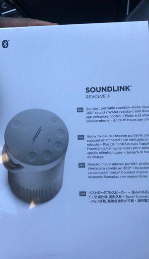 Bose Speaker Soundlink Revolve + for Sale in Baltimore, MD