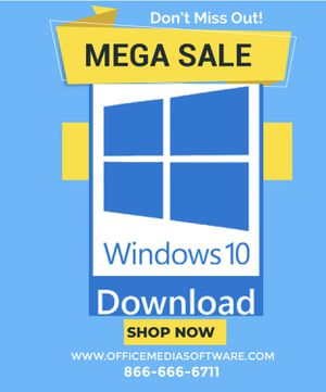Microsoft Windows 10 download version for Sale in Los Angeles, CA