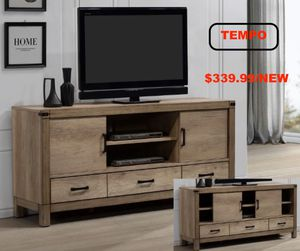 Matteo TV Stand, Light Oak for Sale in Santa Ana, CA