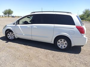 Third row 2006 Nissan quest van. With rear AC and rear DVD player for Sale in Phoenix, AZ