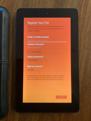 """Amazon Kindle Fire, 5th generation, 7"""" 8GB Wifi Tablet, SV98LN for Sale in San Jose, CA"""