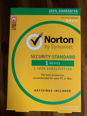 Norton security standard for Sale in Morrisville, PA