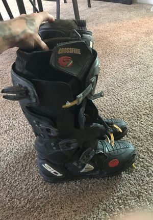 Dirt bike boots size 9 for Sale in Monaca, PA