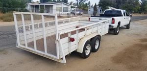 Utility trailer 14 foot Landscape style ..First $2800 for Sale in Wildomar, CA