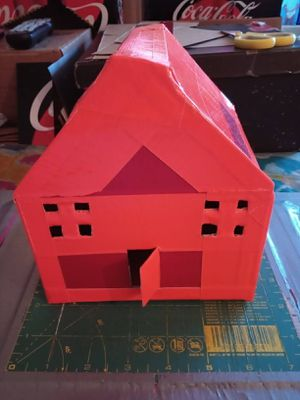 Cardboard house/Handmade.Please buy it A.S.A.P. Pick up only. I'm located in Downtown Los Angeles California. Cash only. I need the money. for Sale in Los Angeles, CA