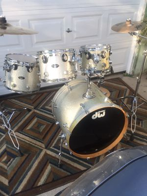 pacific cx series by DW drum set maple wood for Sale in Pomona, CA