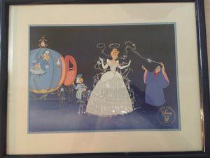 Cinderella Framed Disney photo for Sale in Westerville, OH