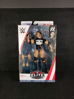The Rock WWE Elite Chase Action Figure for Sale in Saratoga, CA