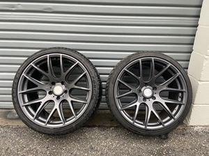 "ESR SR12 19"" wheels 5x120 10.5 ( new tires all around ) for Sale in Largo, FL"