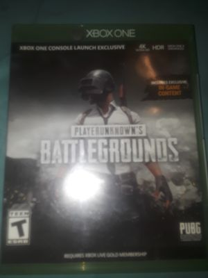 Pubg battle grounds XBox one for Sale in Miami, FL